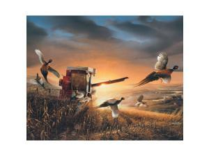 Redlin Evening Surprise 1000 Piece Puzzle by White Mountain Puzzles