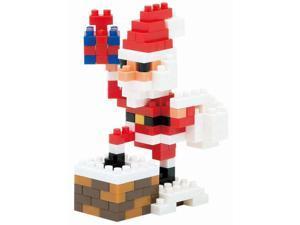 Nanoblock Santa Claus with Chimney by Ohio Art Company