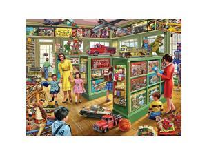 Toy Store 1000 Piece Puzzle by White Mountain Puzzles