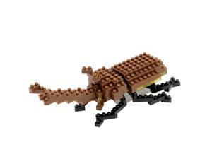 Rhinoceros Beetle Nanoblock Puzzle by Ohio Art Company