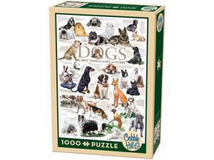 Dog Quotes 1000 Piece Puzzle by Outset Media