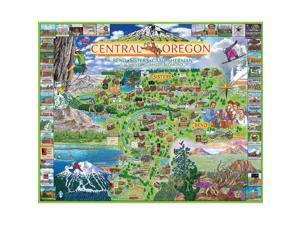 Central Oregon 1000 Piece Puzzle by White Mountain Puzzles