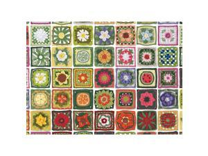 Granny Squares 1000 Piece Puzzle by Outset Media
