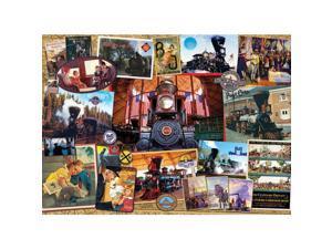 Baltimore Ohio Railroad 1000 Piece Puzzle by Outset Media