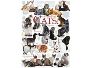 Cat Quotes 1000 Piece Puzzle by Outset Media