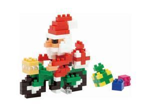Nanoblock Santa Claus with Bike by Ohio Art Company