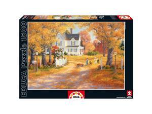 Autumn Leaves 1500 Piece Puzzle by John N. Hansen