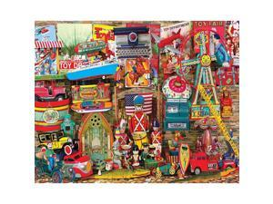 Antique Toys 1,000 Piece Puzzle by White Mountain Puzzles