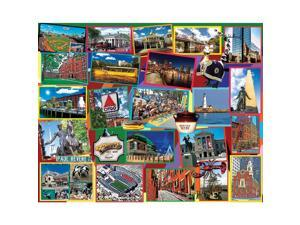 Boston 1,000 Piece Puzzle by White Mountain Puzzles