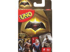 Batman vs Superman uno Game by Mattel Toys