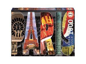 Paris Collage 1000 Piece Puzzle by John N. Hansen