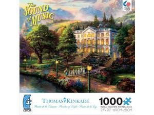 Kinkade Sound of Music 1000 Piece Puzzle by Ceaco
