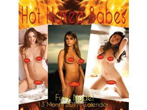 Mystique's Hot Naked Babes 2017 Wall Calendar
