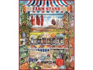 Farm Stands 1000 Piece Puzzle by White Mountain Puzzles