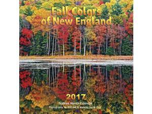 New England Fall Colors Wall Calendar by Apollo