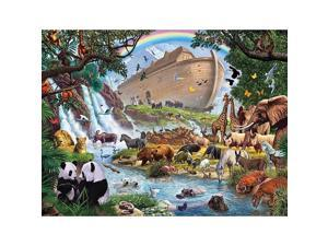 Noah's Art 1000 Piece Puzzle by White Mountain Puzzles