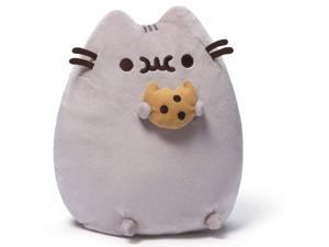 Pusheen Plush Toy with Cookie by Gund