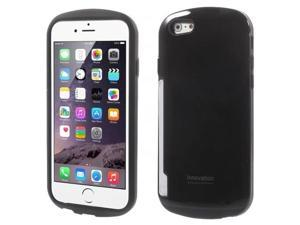 iFace Innovation PC & TPU Card Holder Case for iPhone 6 4.7 inch - Black