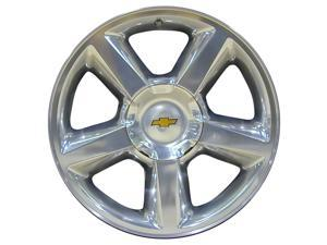 2007-2013 Chevrolet Avalanche 20x8.5 Aluminum Alloy Wheel, Rim Polished Full Face - 5308