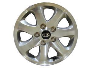 2004-2005 Kia Sedona OEM  15x6 Alloy Wheel, Rim Sparkle Silver Painted with Machined Face-74575