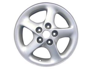1993-1994 Ford Probe OEM  16x7 Alloy Wheel Left Sparkle Silver Full Face Painted-3060