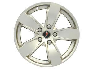 2004-2006 Pontiac GTO OEM  17x8 Alloy Wheel, Rim Dark Smoked Hypersilver Full Face Painted - 6570