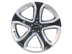 2011-2013 Ford Edge OEM  22x9 Alloy Wheel Black Pearl Metallic Painted with Polished Face-3850