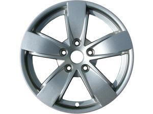 2004-2006 Pontiac GTO OEM  17x8 Alloy Wheel, Rim Medium Silver Metallic Full Face Painted - 6570