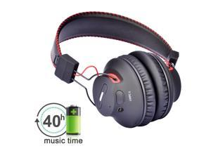 Avantree Audition Bluetooth 4.0 NFC Over-The-Ear Headphones - Wireless & Wired