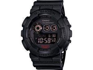 Casio GD120MB-1CR Mens Resin Black Case Resin Bracelet Black Band Black Dial Watch