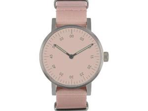 Void V03B-BR/PK/PK Unisex Stainless Pink Nylon Band Pink Dial Watch
