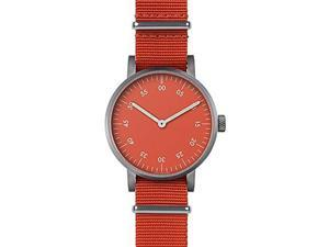 Void V03B-BR/RE/RE Unisex Stainless Steel Red Nylon Band Red Dial Watch