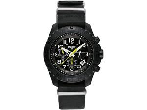 Traser 102908 Men's Outdoor Pioneer Chronograph Black Nylon Black Dial Watch