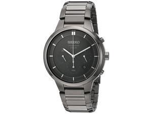 Seiko SSC443 Men's 'Chronograph' Quartz Stainless Steel Dress Watch
