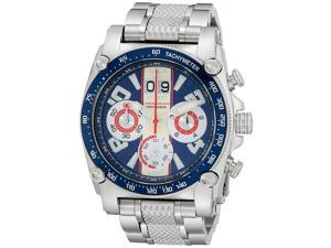 Reactor 41003 Mens Analog Display Japanese Quartz Silver Watch
