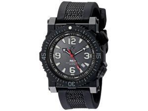 Reactor 43801 Mens Titan Analog Display Japanese Quartz Black Watch
