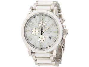 Reactor 67005 Unisex Stainless Steel Two-tone Bracelet Band White Dial Watch