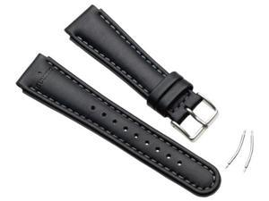 Suunto SS0S4703000 Wrist-Top Computer Watch X-Lander and S-Lander Black Leather Watch Band