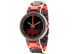 LEGO 3408-STW13 Men's Star Wars Darth Vader Plastic Multi-Color Bracelet Band Black Dial Watch
