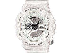 Casio GMAS110HT-7ACR G-Shock Men's White Resin Band Grey Dial Watch