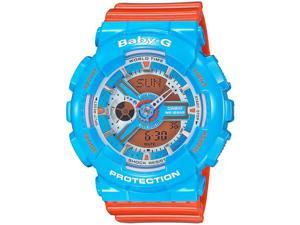 Casio G Shock GA110NC-2ACR Men's Orange Resin Band Orange Dial Watch