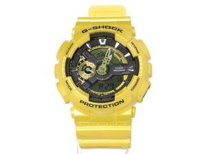 Casio G-Shock GA110NM-9ACR Unisex Yellow Resin Band Yellow Dial Watch