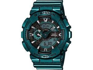 Casio G-Shock GA110NM-3ACR Unisex Green Resin Band Green Dial Watch