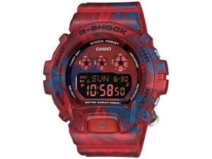 Casio G-Shock GMDS6900F-4CR Men's S Series Two-tone Band Red Dial Watch