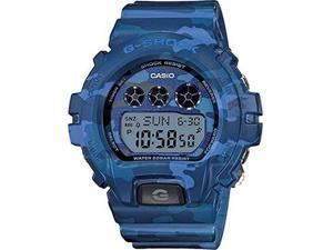 Casio GMDS6900CF-2CR Women's G-Shock S Series Blue Resin Band Blue Dial Watch