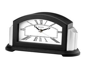 Bulova B6219 Astor Bluetooth-enabled Mantel Black Hands White Dial Wall Cloook