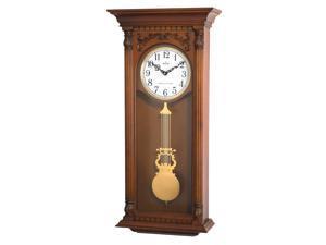 Bulova C4330 Walnut Finish Norwood Clock