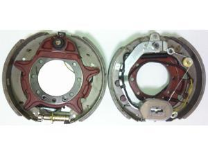 "Set of 2 New 12-1/4""x3-3/8"" electric trailer brake assembly pair for 10K lbs axle - 21008"