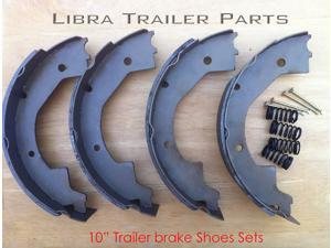 "(2) 10"" electric trailer brake shoes replacement kits - 21028/20142"