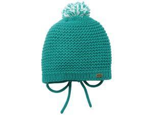 Roxy Juniors Sugar Plum Beanie Hat Cap-Teal Green